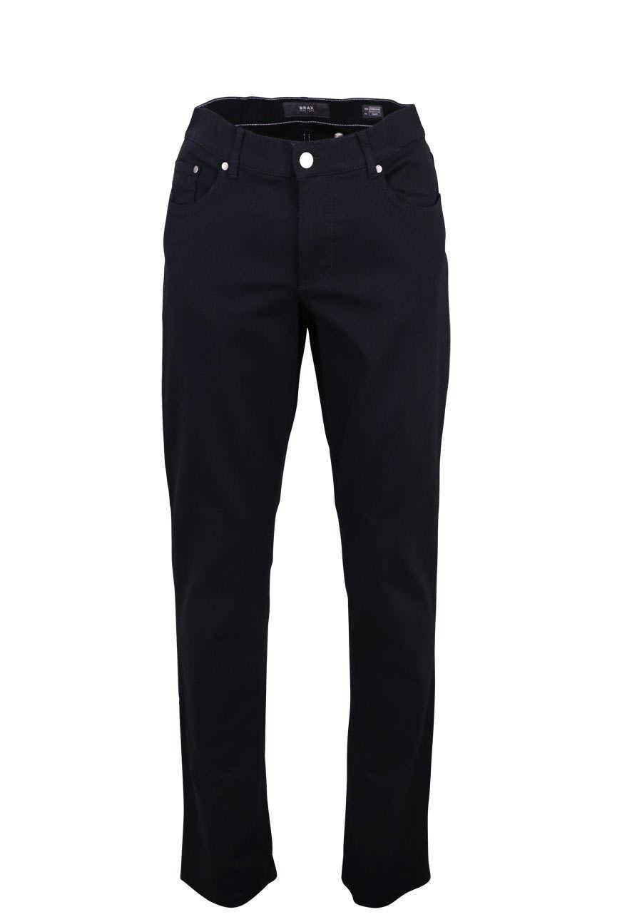BRAX Regular Fit Hose COOPER 5 Pocket Stretch schwarz
