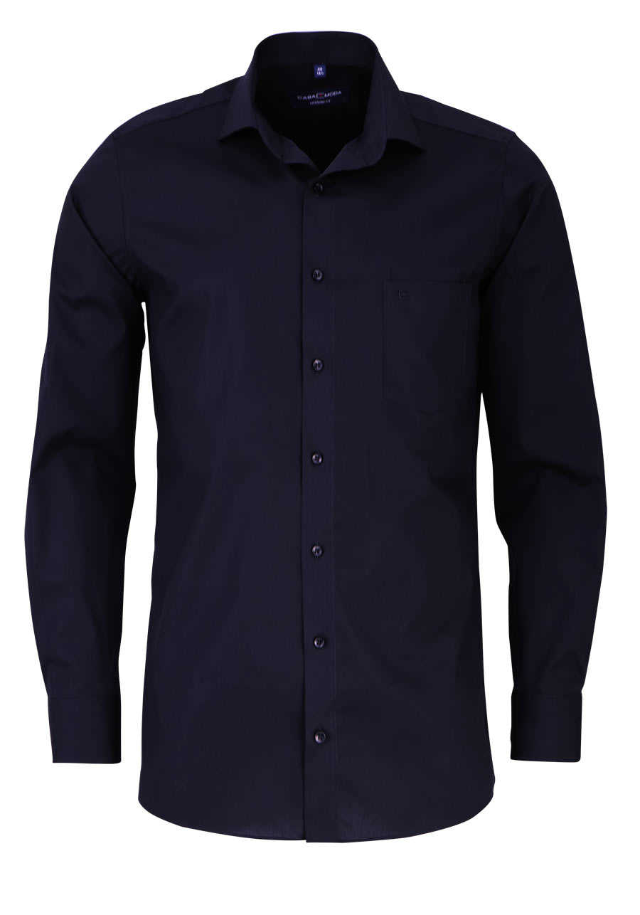 casamoda modern fit hemd extra langer arm new kent kragen. Black Bedroom Furniture Sets. Home Design Ideas