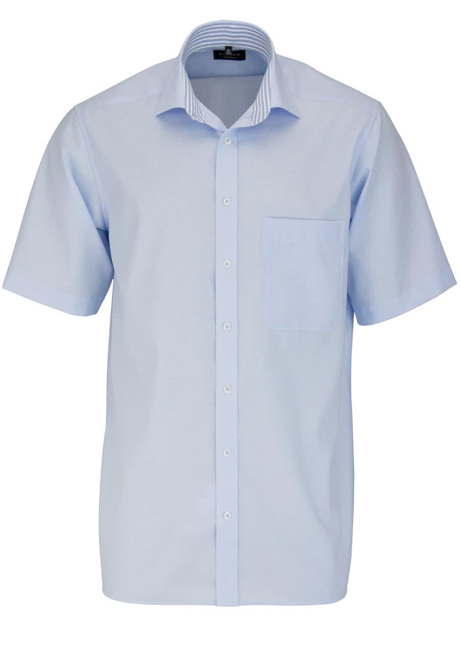 eterna comfort fit hemd halbarm new kent kragen mit patch. Black Bedroom Furniture Sets. Home Design Ideas