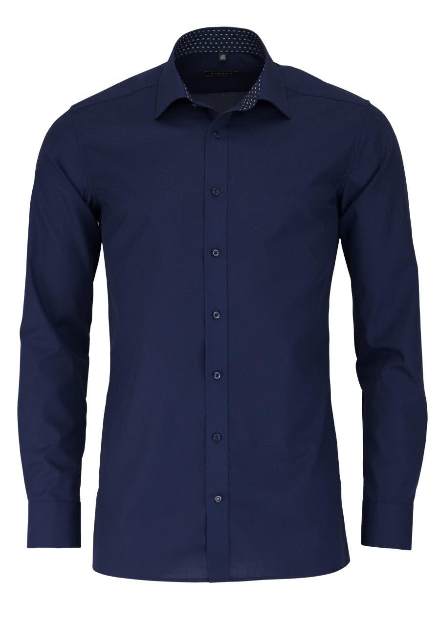 eterna slim fit hemd langarm new kent kragen mit patch. Black Bedroom Furniture Sets. Home Design Ideas