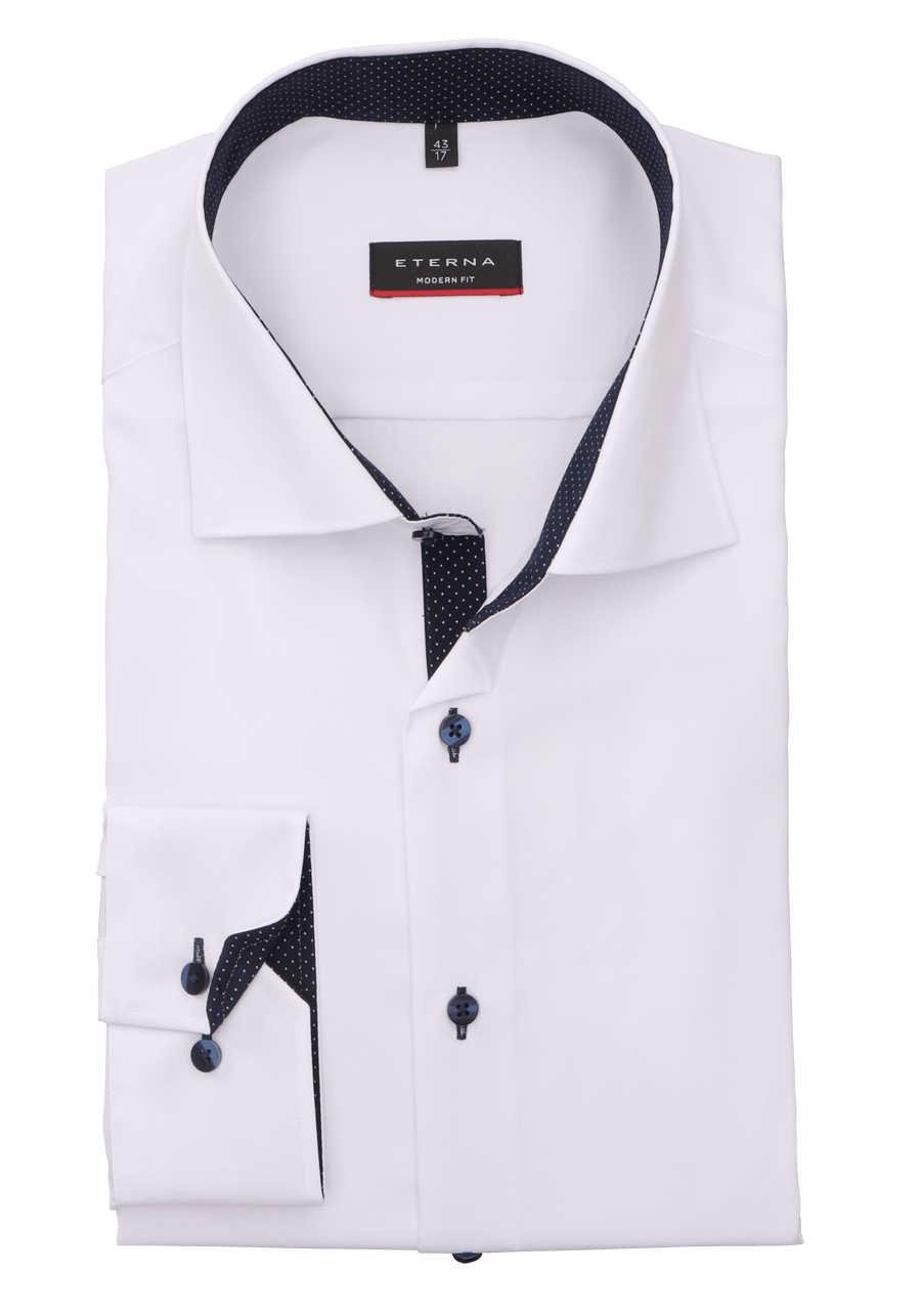 Eterna Business Hemd Comfort Fit Oxford Qualität Beige