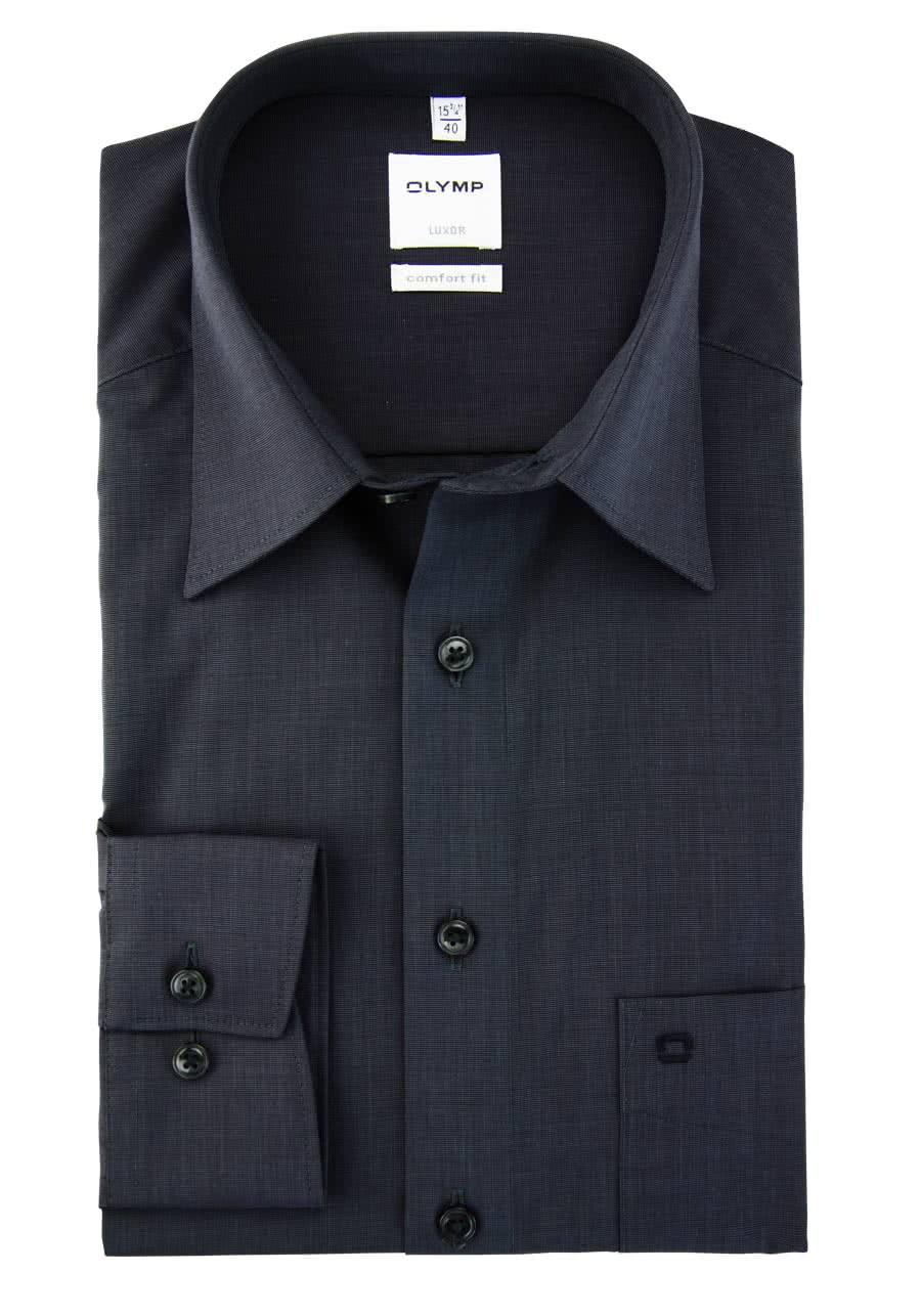 Gr 44 Herren ETERNA Modern Fit Hemd extra kurzer Arm Fil à