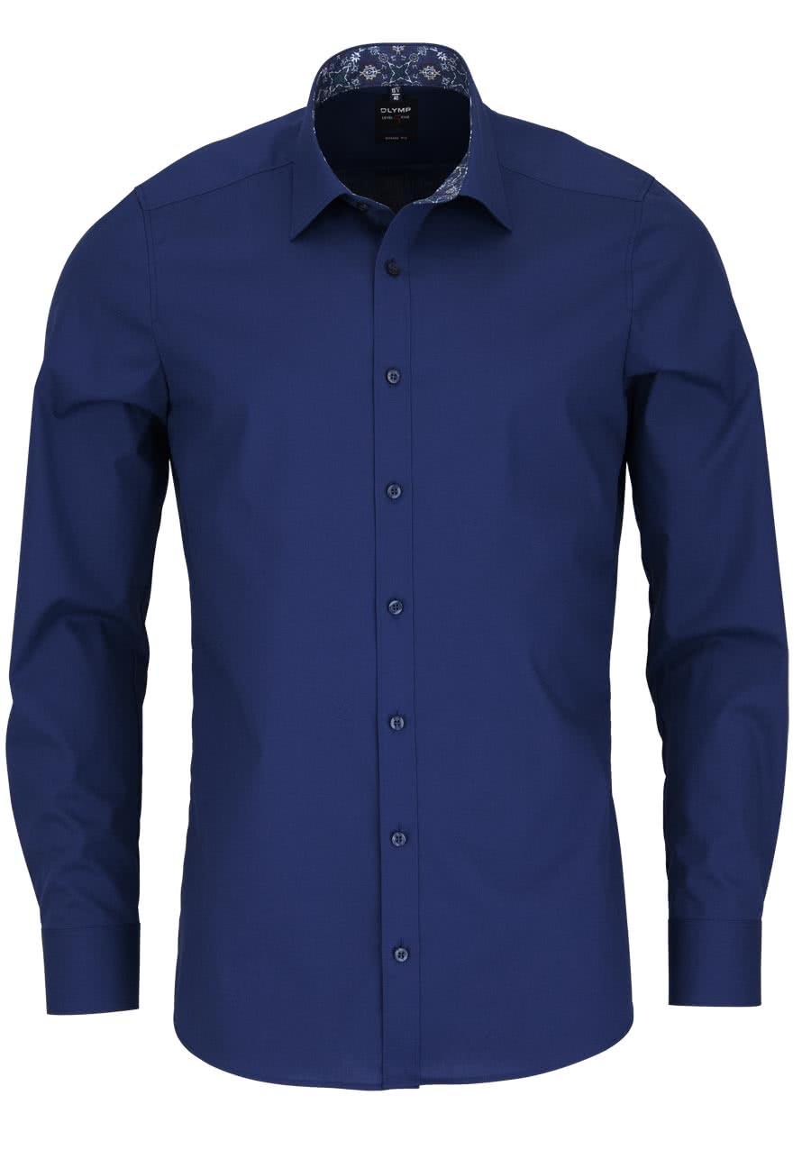 olymp body fit hemd langarm new kent kragen mit patch. Black Bedroom Furniture Sets. Home Design Ideas