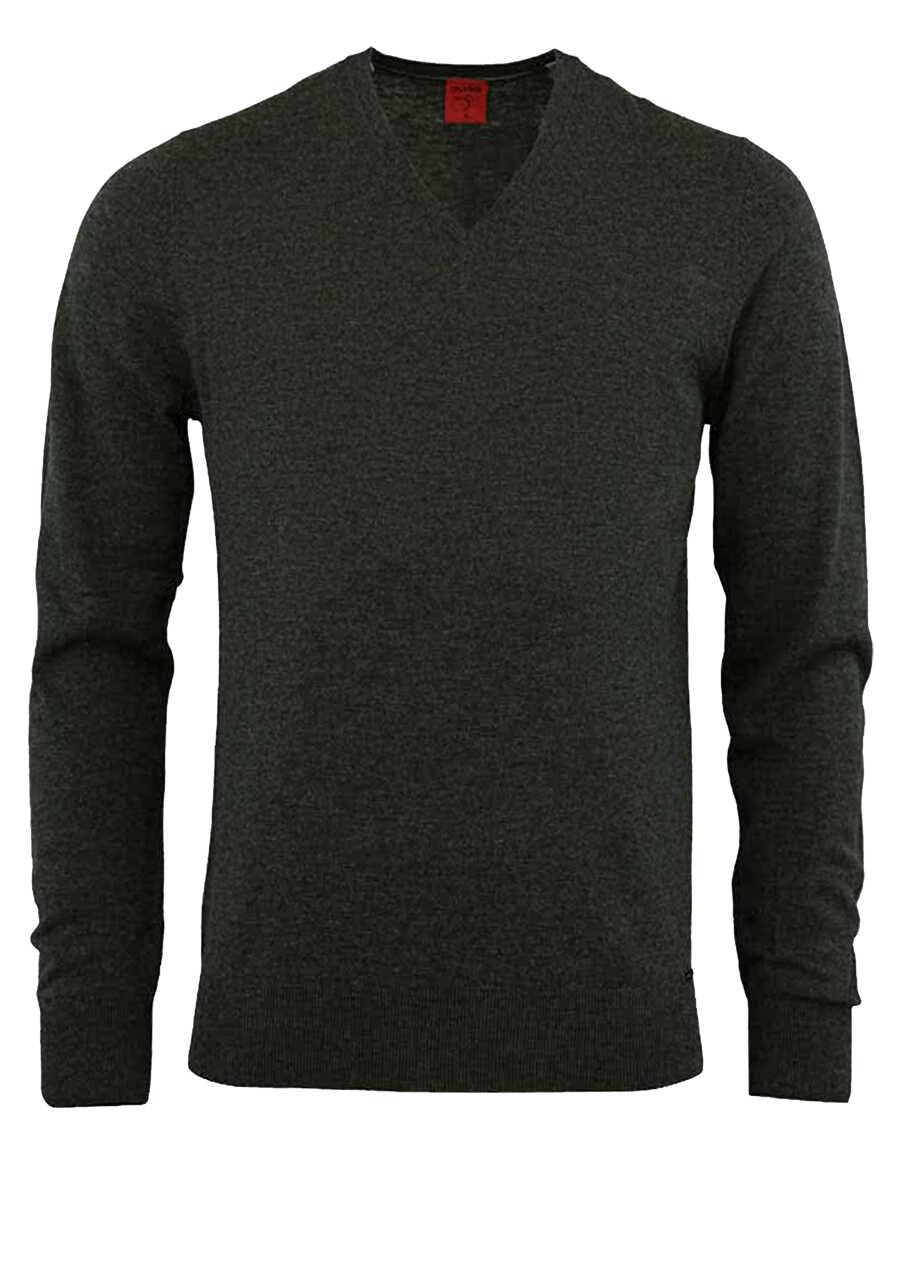 olymp level five strick body fit pullover v ausschnitt. Black Bedroom Furniture Sets. Home Design Ideas