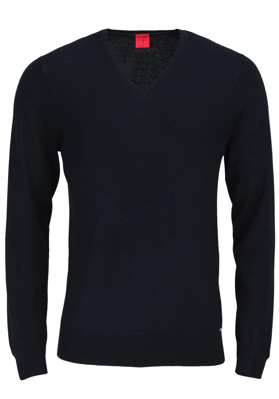 olymp level five strick body fit pullover v ausschnitt schwarz. Black Bedroom Furniture Sets. Home Design Ideas