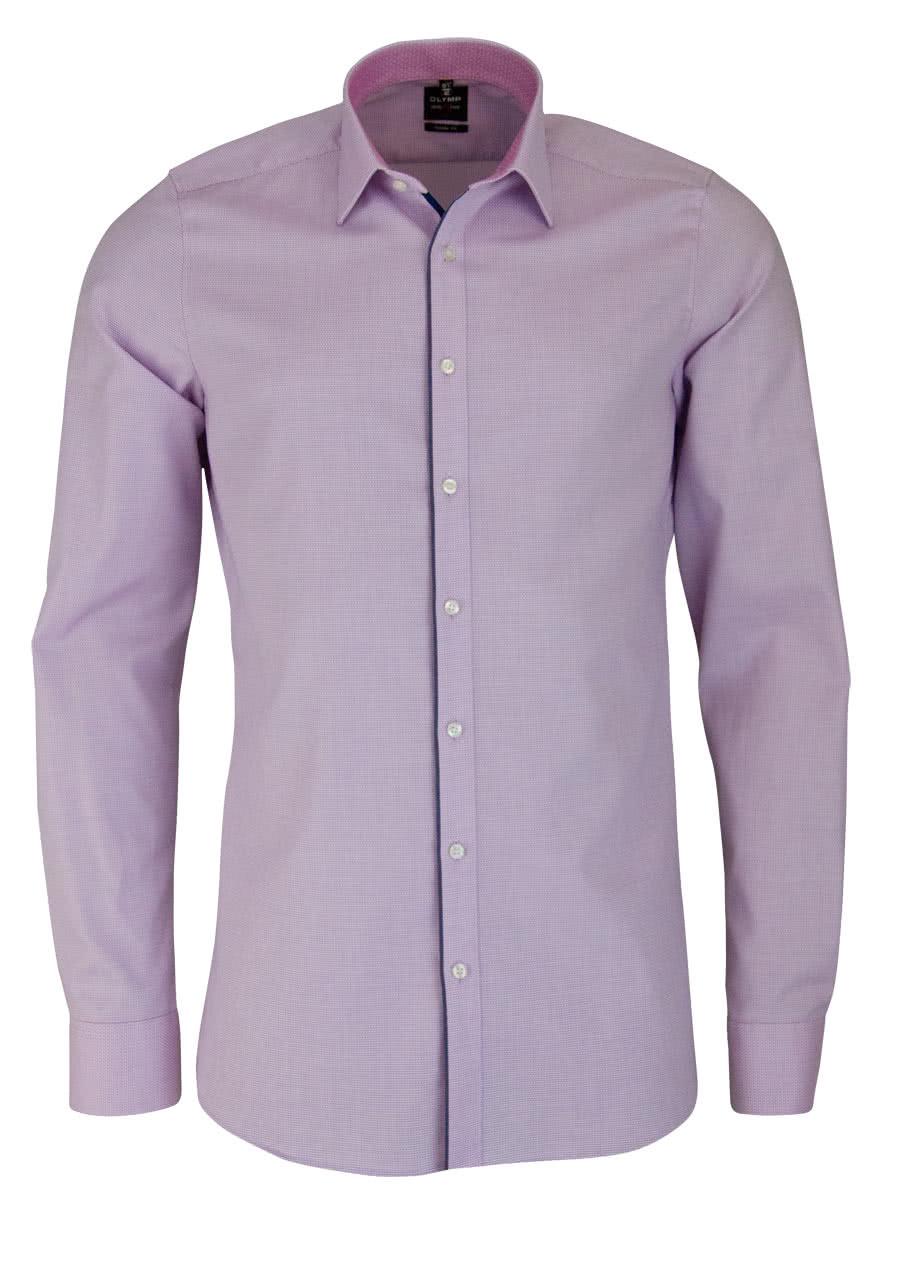 olymp level five body fit hemd extra langer arm muster rosa. Black Bedroom Furniture Sets. Home Design Ideas