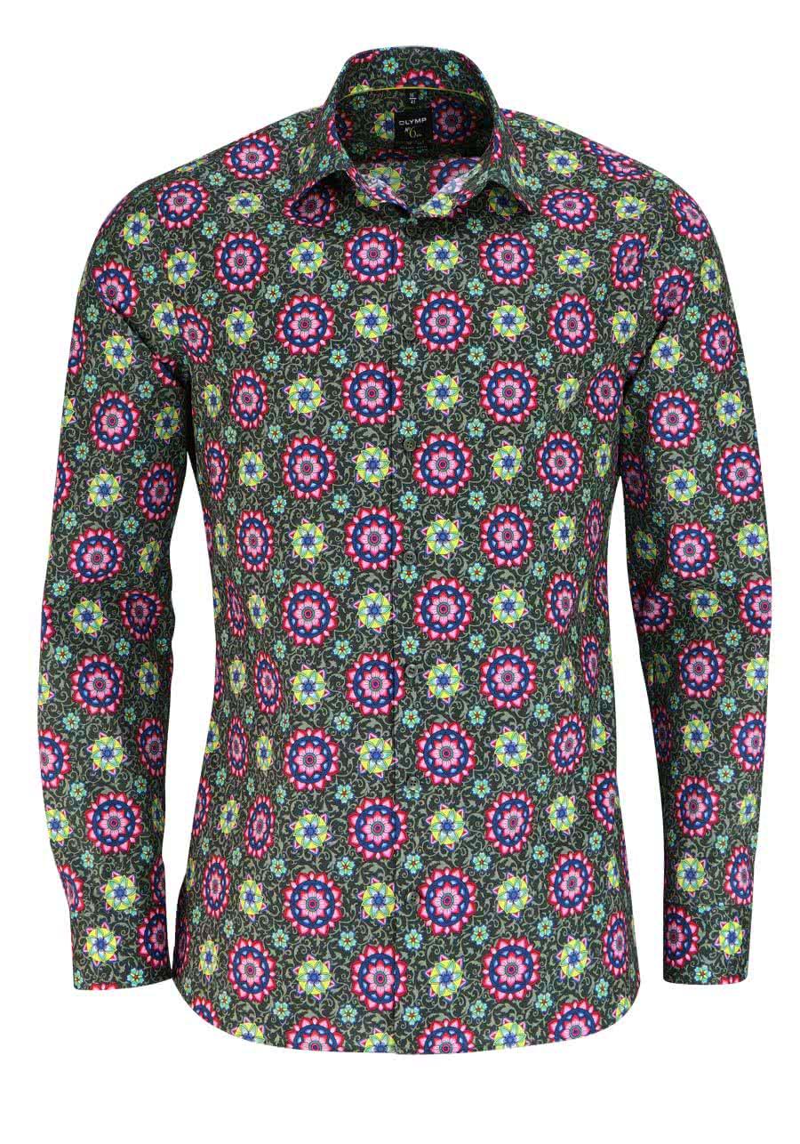 olymp no six super slim hemd extra langer arm muster. Black Bedroom Furniture Sets. Home Design Ideas