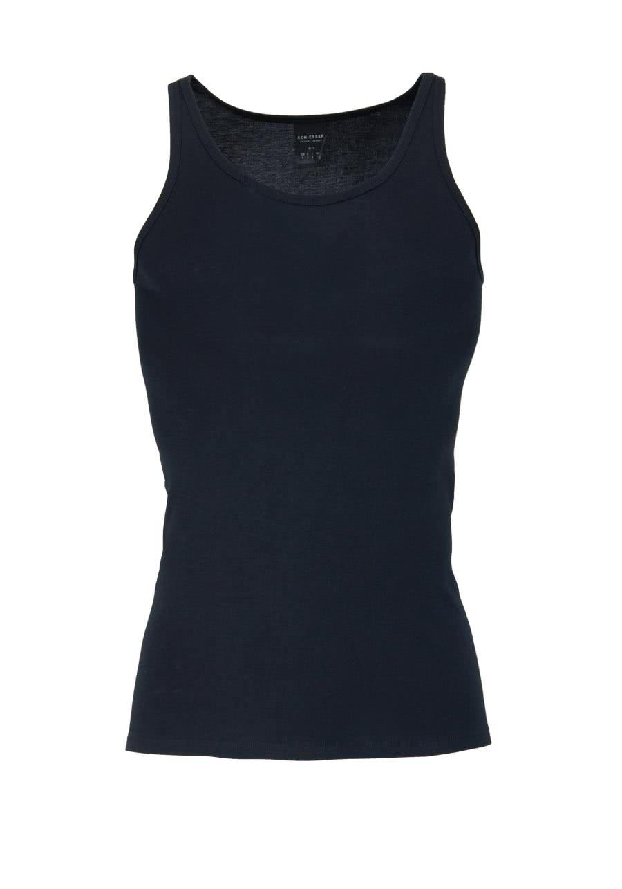 buy online 220b4 d1f81 SCHIESSER ärmelloses Shirt Rundhals Original Classics Feinripp schwarz