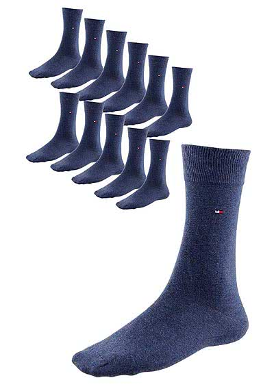TOMMY HILFIGER Herrensocken 12er Pack navy