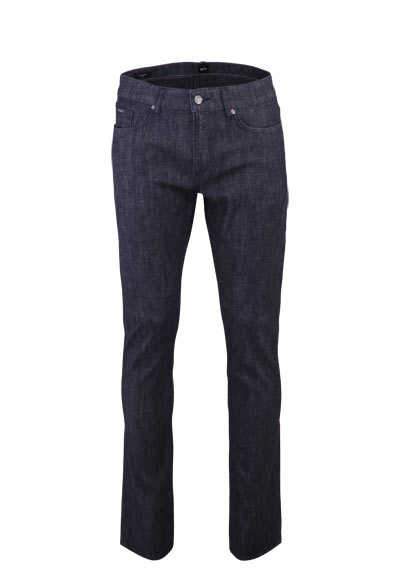 BOSS BUSINESS Slim Fit Jeans DELAWARE3-1 Stretch 5 Pocket nachtblau