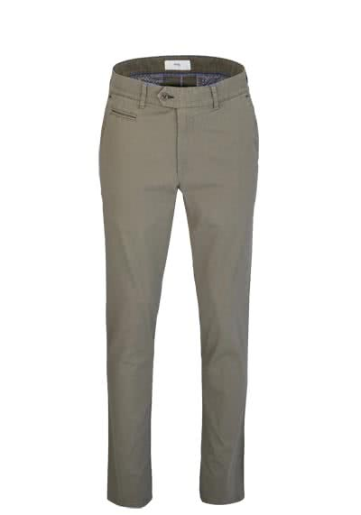 BRAX Regular Fit Hose EVEREST Flatfront Stretch taupe preisreduziert