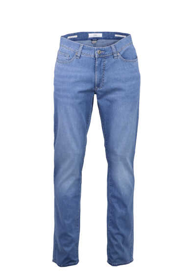 BRAX Regular Fit Jeans CADIZ 5 Pocked Stretch mittelblau