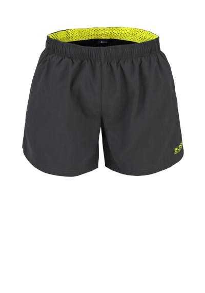 BOSS Badeshorts PERCH Logoschriftzug Eingrifftaschen oliv - Hemden Meister