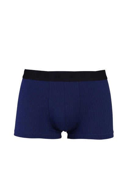BOSS Boxershorts Gummibund mit Logoschriftzug Muster nachtblau - Hemden Meister