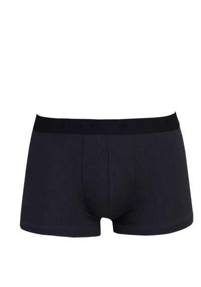 BOSS Boxershorts Gummibund mit Logoschriftzug Muster schwarz - Hemden Meister