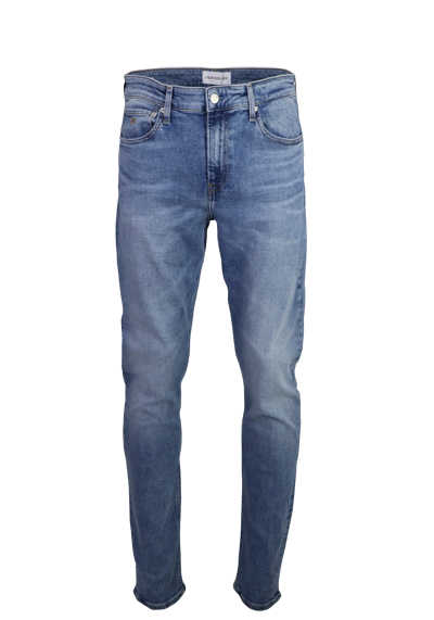 CALVIN KLEIN JEANS Slim Fit Jeans Used 5 Pocket hellblau