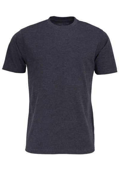 CASAMODA T-Shirt mit Rundhals reine Baumwolle anthrazit - Hemden Meister