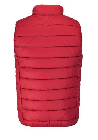 casamoda steppweste stehkragen mit rei verschluss rot. Black Bedroom Furniture Sets. Home Design Ideas