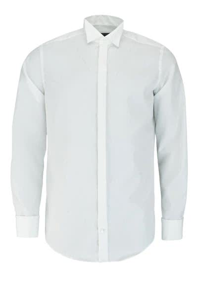 CASAMODA Gala Hemd Langarm Kläppchen Kragen Popeline beige - Hemden Meister