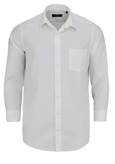 CASAMODA Comfort Fit Hemd extra kurzer Arm Chambray beige - Hemden Meister