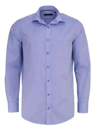 CASAMODA Comfort Fit Hemd Langarm New Kent Kragen hellblau - Hemden Meister