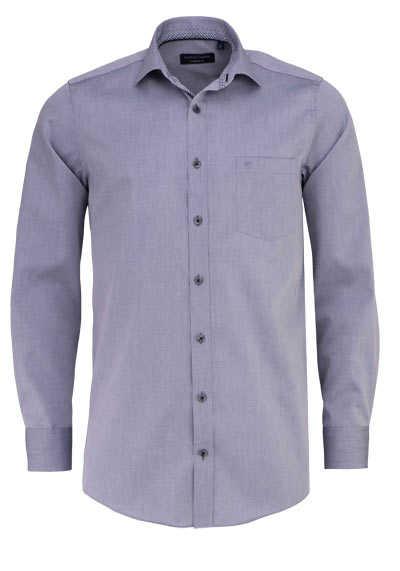 CASAMODA Comfort Fit Hemd Langarm New Kent Kragen grau - Hemden Meister
