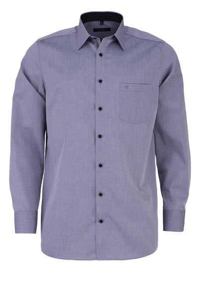 CASAMODA Comfort Fit Hemd Langarm New Kent Kragen mittelgrau - Hemden Meister