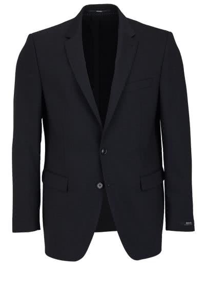 DIGEL Modern Fit Sakko DAMIAN-S mit Teilungsnaht schwarz - Hemden Meister
