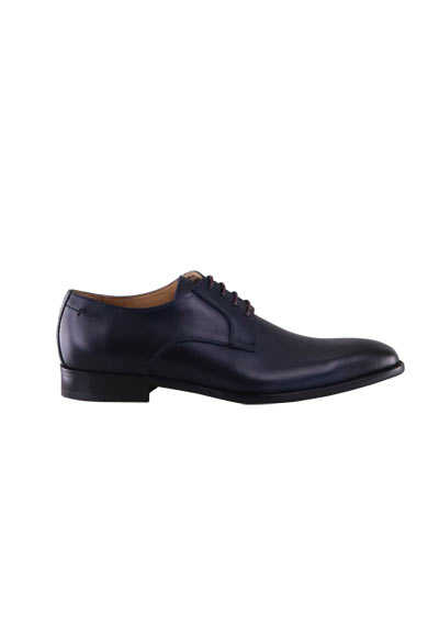 DIGEL Schuh SIMON Glattleder Ziernähte nachtblau - Hemden Meister