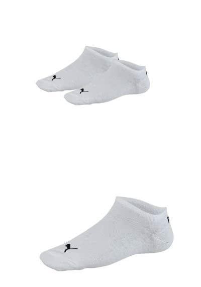 PUMA Sneaker Socken mit Logostick 3er Pack Unisex weiß - Hemden Meister