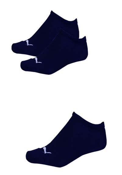 PUMA Sneaker Socken mit Logostick 3er Pack Unisex navy - Hemden Meister