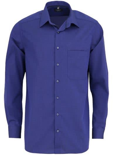 ETERNA Comfort Fit Hemd extra langer Arm New Kent Kragen nachtblau - Hemden Meister