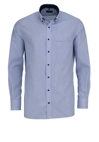 ETERNA Comfort Fit Hemd extra kurzer Arm hellblau - Hemden Meister