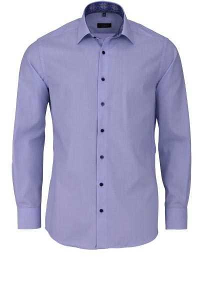 ETERNA Modern Fit Hemd extra langer Arm New Kent Kragen hellblau - Hemden Meister