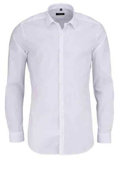 ETERNA Super Slim Hemd Langarm mit Basic Kent Kragen weiß - Hemden Meister