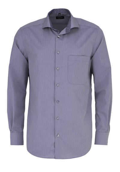 ETERNA Comfort Fit Hemd extra langer Arm Haifischkragen grau - Hemden Meister