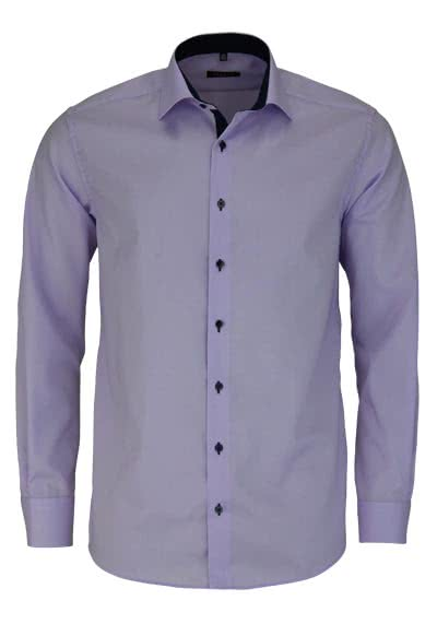 ETERNA Modern Fit Hemd extra langer Arm Oxford mauve AL 68