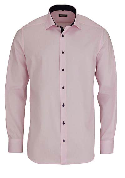 ETERNA Modern Fit Hemd extra langer Arm Oxford rosa AL 68