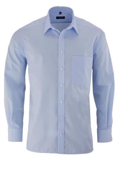 ETERNA Comfort Fit Hemd extra langer Arm Popeline hellblau - Hemden Meister