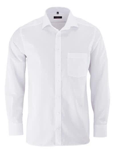 ETERNA Modern Fit Hemd Langarm mit Brusttasche weiß - Hemden Meister