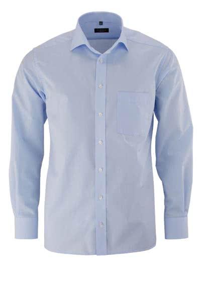 ETERNA Modern Fit Hemd Langarm hellblau - Hemden Meister