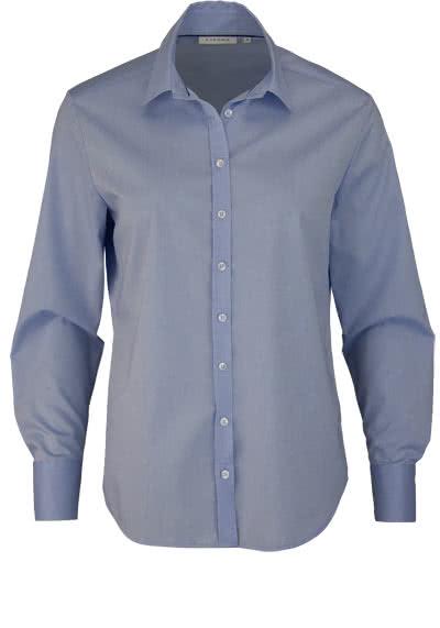 ETERNA Comfort Fit Bluse Langarm Hemdenkragen Stretch hellblau - Hemden Meister