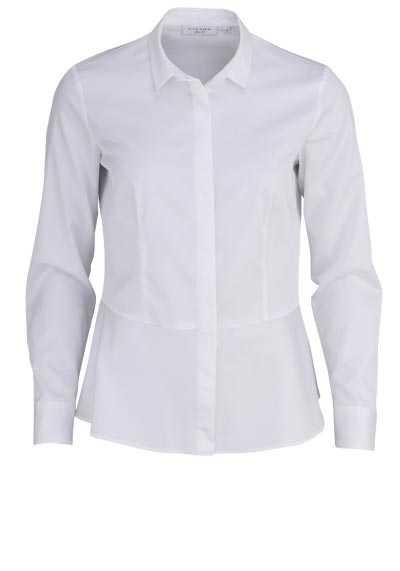 ETERNA Slim Fit Hemd Langarm Hemdenkragen Stretch weiß - Hemden Meister