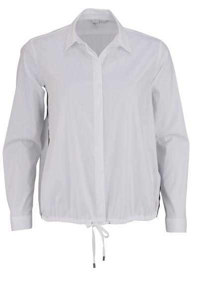 ETERNA Modern Fit Bluse Langarm Hemdenkragen Stretch weiß - Hemden Meister
