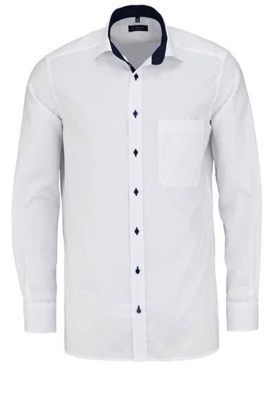 ETERNA Comfort Fit Hemd extra kurzer Arm Oxford weiß - Hemden Meister