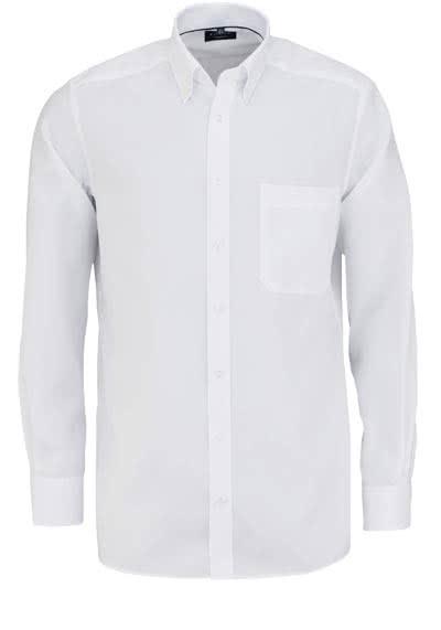 ETERNA Comfort Fit Hemd Langarm mit Brusttasche Oxford weiß - Hemden Meister