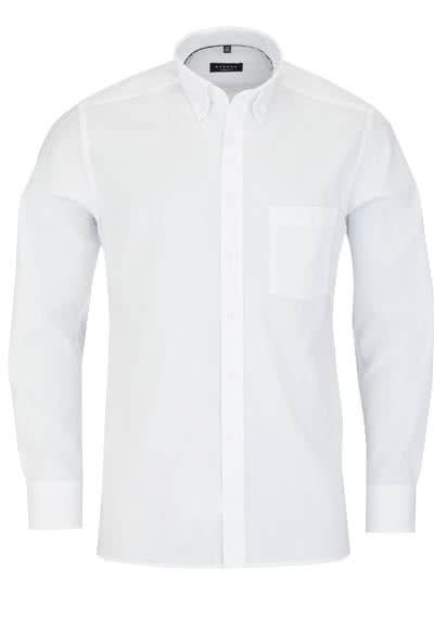 ETERNA Modern Fit Hemd Langarm mit Brusttasche Oxford weiß - Hemden Meister