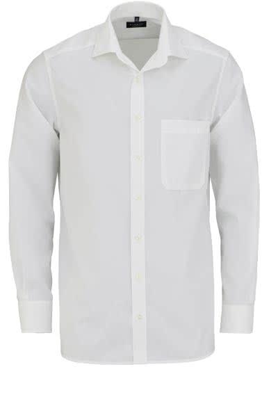 ETERNA Comfort Fit Hemd Langarm New Kent Popeline beige - Hemden Meister