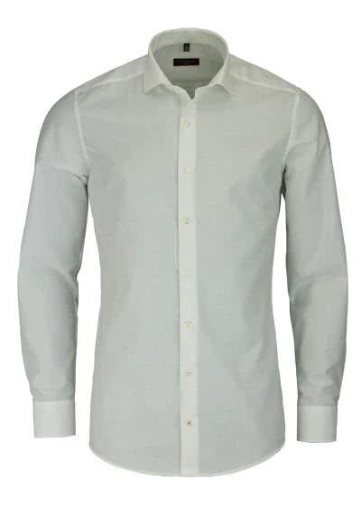 ETERNA Slim Fit Hemd Langarm New Kent Popeline beige - Hemden Meister