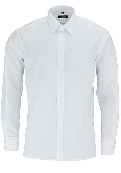 ETERNA Comfort Fit Gala Hemd Langarm Popeline weiß - Hemden Meister
